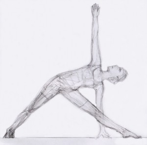 asana of the week  extended triangle pose