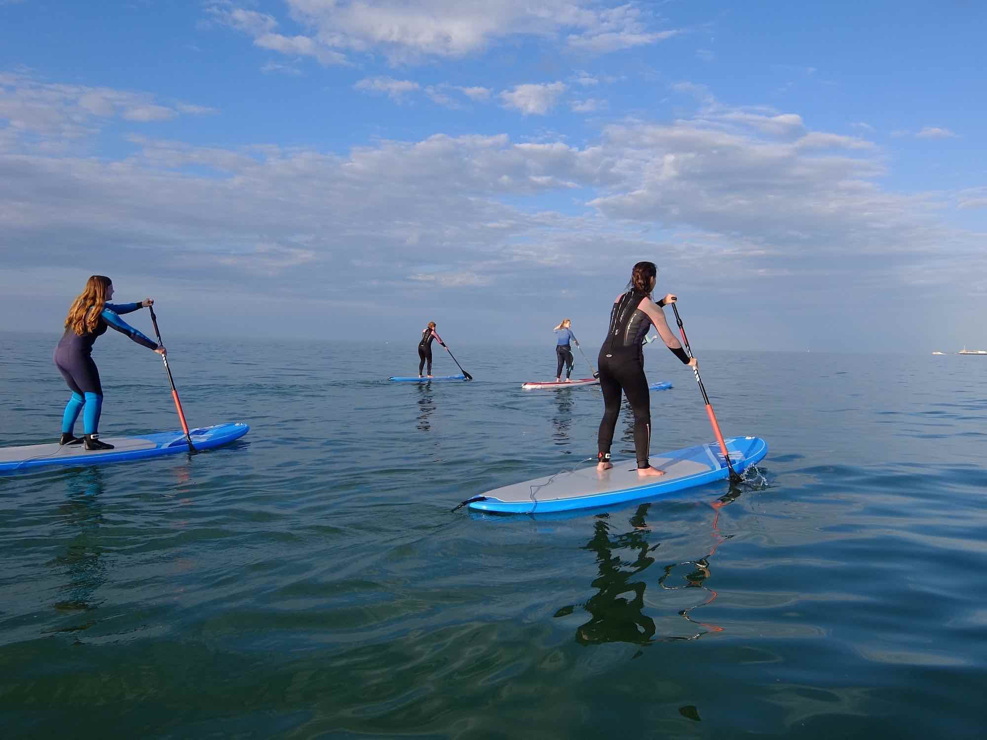 The 5 Best Places To Meditate In Whitstable - Stand Up Paddle Boarding