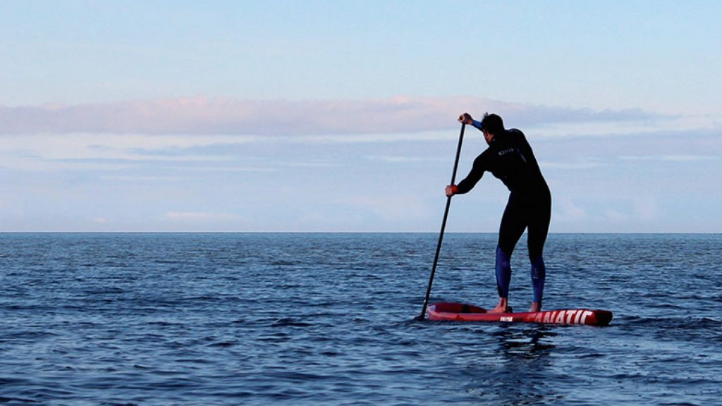 The best places to practice mindfulness in Whitstable - standup paddle boarding